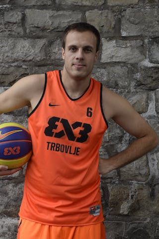 #6 Kavgic Adin, Team Trbovlje, FIBA 3x3 World Tour Lausanne 2014, 29-30 August.