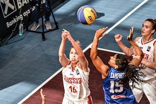 15 Arianna Zampieri (ITA) - 16 Evgeniia Frolkina (RUS)