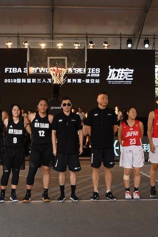 25 Risa Nishioka (JPN) - 24 Mamiko Tanaka (JPN) - 23 Mai Yamamoto (JPN) - 22 Kiho Miyashita (JPN) - 13 Ashleigh Kelman-poto (NZL) - 12 Milomilo Nanai (NZL) - 9 Tiarna Clarke (NZL) - 5 Nicole Ruske (NZL)