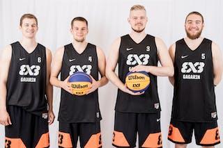 5 Dmitrii Cheburkin (RUS) - 6 Daniil Abramovskii (RUS) - 4 Alexander Zuev (RUS) - 3 Aleksandr Antonikovskii (RUS)