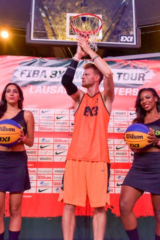 3x3 WT Lausanne Masters CityCable Dunk Contest Winner