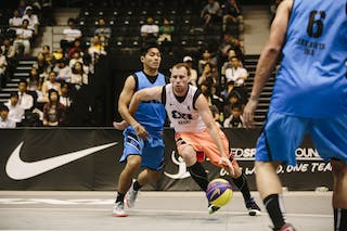 #4 Effendi Rizky, Team Jakarta, FIBA 3x3 World Tour Final Tokyo 2014, 11-12 October.