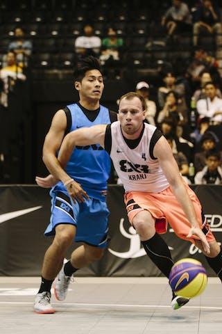 #4 Effendi Rizky, Team Jakarta, FIBA 3x3 World Tour Final Tokyo 2014, 11-12 October.