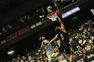 #5 Sarmento Marcellus, Team Santos, FIBA 3x3 World Tour Final Tokyo 2014, 11-12 October.