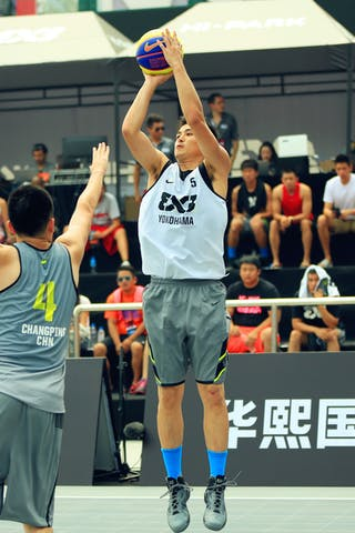 #5 Tatsuro Taniguchi, Team Yokohama, 2014 World Tour, 3x3game, 03 August, Day 2