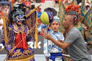 Entertainment, 2014 World Tour Beijing, 3x3game, 2-3 August.