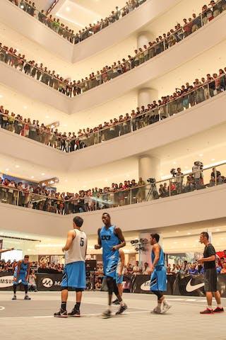 Court view, 2014 World Tour Manila, 3x3, 20. July.