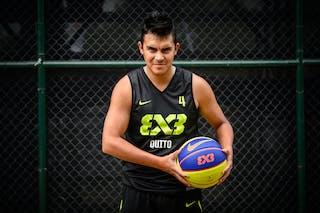 #4 Erazo Jorge, Team Quito, FIBA 3x3 World Tour Rio de Janeiro 2014, 27-28 September.