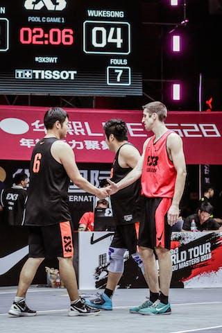 6 Nolan Brudehl (CAN) - 3 Michael Linklater (CAN) - 6 Aoao Lyu (CHN) - 3 Zhang Jingli (CHN)