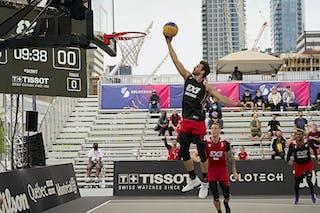FIBA 3x3, World Tour 2021, Mtl, Can, Esplanade Place des Arts. QF 1- Riga vs. Amsterdam