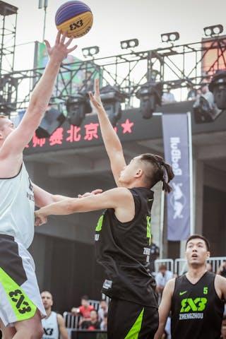 4 Changlin Guo (CHN) - 3 Dusan Domovic Bulut (UAE) - Novi Sad AlWahda v Zheng Zhou, 2016 WT Beijing, Pool, 16 September 2016