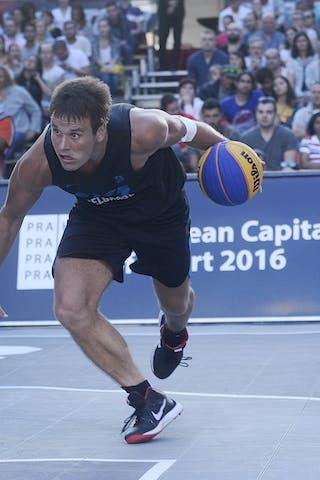 3 Dragan Bjelica (SRB) - Ljubljana v Belgrade, 2016 WT Prague, Pool, 6 August 2016
