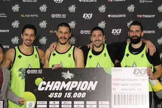4 Maksim Kovacevic (SRB) - 2 Aleksandar Ratkov (SRB) - 3 Mihailo Vasic (SRB) - 1 Stefan Kojic (SRB)