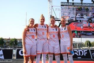 18 Fleur Kuijt (NED) - 11 Jill Bettonvil (NED) - 9 Esther Fokke (NED) - 3 Loyce Bettonvil (NED)