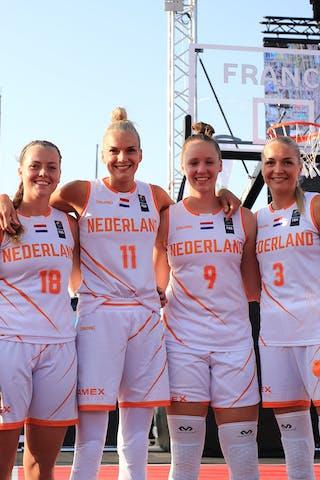 18 Fleur Kuijt (NED) - 11 Jill Bettonvil (NED) - 9 Esther Fokke (NED) - 3 Loyce Bettonvil (NED)