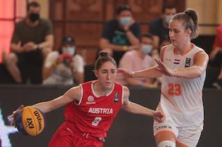 23 Charlotte Van Kleef (NED) - 9 Michaela Wildbacher (AUT)