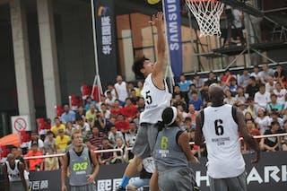 #5 Wang Cong, Team Wukesong, 2014 World Tour Beijing, 3x3game, 2-3 August.