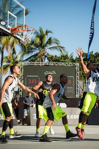 #4 Fortaleza (Brazil) Caracas (Venezuela) 2013 FIBA 3x3 World Tour Rio de Janeiro