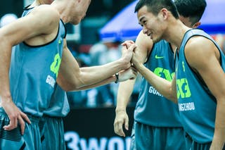 Team Guangzhou, 2014 World Tour Beijing, 3x3game, 2-3 August.