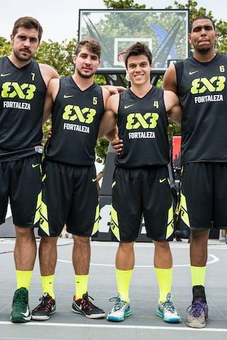 Team Fortaleza, FIBA 3x3 World Tour Rio de Janeiro 2014, Day 2, 28. September.