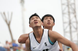 #5 Ku Granger, Team New Taipei, 2014 World Tour Beijing, 3x3game, 2-3 August.