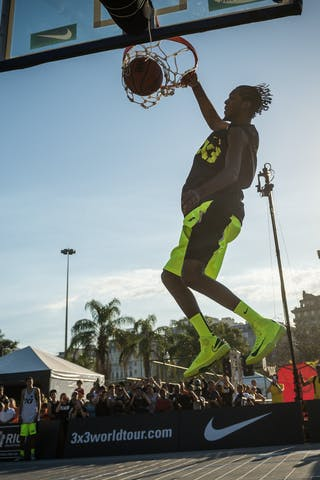 Dunk contest 2013 FIBA 3x3 World Tour Rio de Janeiro