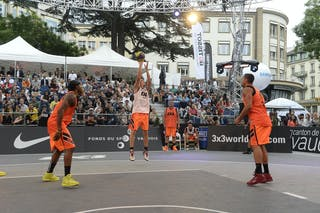 #5 Negri Andrea, Team Lecco, FIBA 3x3 World Tour Lausanne 2014, Day 1, 29. August.