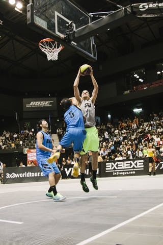 #5 Lieffers Michael, Team Saskatoon, FIBA 3x3 World Tour Final Tokyo 2014, 11-12 October.