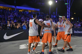 Kranj (Slovenia) Right after the win 2013 FIBA 3x3 World Tour Masters in Lausanne