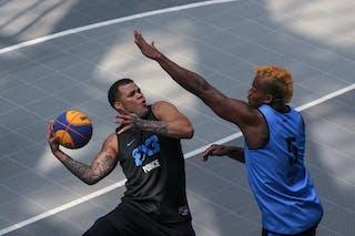 5 Leandro Souza De Lima (IND) - 6 Wil Martinez (PUR)
