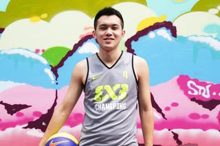 #4 Liang Yu, Team Changping, FIBA 3x3 World Tour Beijing 2014, 2-3 August.