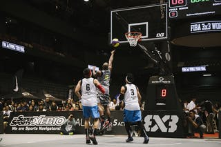 #4 Reaves Chris, Team Wukesong, FIBA 3x3 World Tour Final Tokyo 2014, 11-12 October.