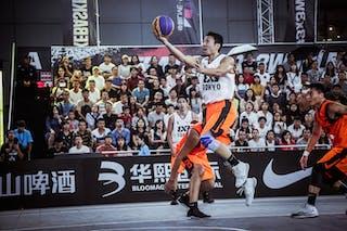 6 Wang Xuefeng (CHN) - 5 Tatsuhito Noro (JPN)