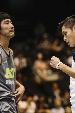 Effendi Rizky, Team Jakarta, FIBA 3x3 World Tour Final Tokyo 2014, 11-12 October.
