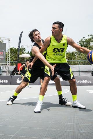 #5 Seijas Edward, Team La Guaira, FIBA 3x3 World Tour Rio de Janeiro 2014, Day 2, 28. September.