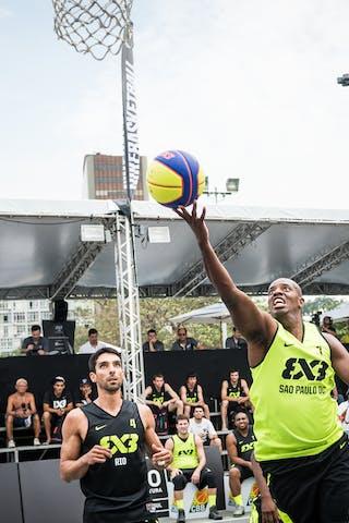 #7 Mariano JR Juninho, Team Sao Paulo DC, FIBA 3x3 World Tour Rio de Janeiro 2014, Day 2, 28. September.