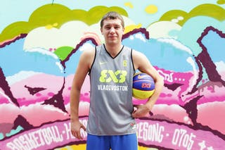 #6 Kapliev Pavel, Team Vladivostok, FIBA 3x3 World Tour Beijing 2014, 2-3 August.