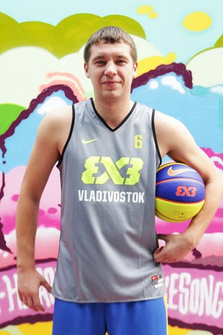 #6 Kapliev Pavel, Team Vladivostok, FIBA 3x3 World Tour Beijing 2014, 2-3 August.