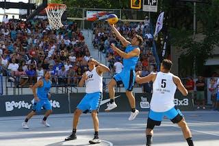 5 Carlos Silva Jr (BRA) - 3 Douglas Motta (BRA) - 3 Daniel Mavraides (USA) - 6 Zahir Carrington (USA)