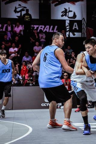 5 Tao Liu (CHN) - 4 Chen Qiujie (CHN) - 6 Bao Yufeng (CHN)