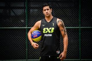 #7 Pinho Sant'Ana Junior Rober de Jesus, Team Pelotas, FIBA 3x3 World Tour Rio de Janeiro 2014, 27-28 September.