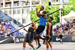 3 Yunus Yurttagul (TUR) - 6 Batuhan Dogdu (TUR) - 4 Michael Hicks (POL) - Gdansk v Manisa, 2016 WT Lausanne, Pool, 26 August 2016