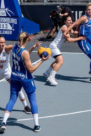 11 Kristýna Minarovičová (CZE) - 44 Vivi Böröndy (HUN)