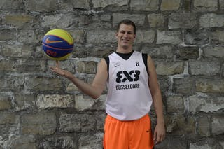 #6 Bruckmann Tim, Team Dusseldorf, FIBA 3x3 World Tour Lausanne 2014, 29-30 August.
