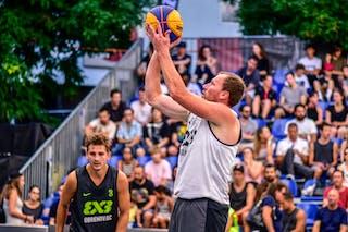 3 Boris Jersin (SLO) - 3 Filip Simic (SRB) - Kranj v Obrenovac, 2016 WT Lausanne, Pool, 26 August 2016