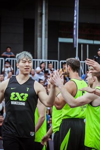 7 Honglin Zhang (CHN) - Auckland v Wukesong, 2016 WT Beijing, Pool, 17 September 2016