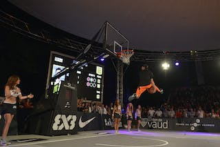 Dunk contest 2013 FIBA 3x3 World Tour Masters in Lausanne