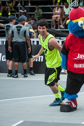 Mascota, entertainment, FIBA 3x3 World Tour Rio de Janeiro 2014, Day 2, 28. September.