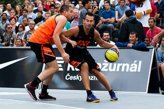 #4 Fran Robles. Team Malaga. 2014 World Tour Prague. 3x3 Game. 23 August. Day 1.