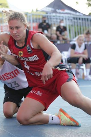 23 Ekaterina Timchenko (RUS) - 4 Luana Rodefeld (GER)